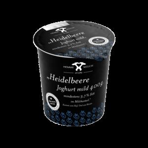 Heidelbeere Joghurt mild, mind. 3,7% Fett im Milchanteil